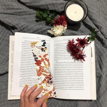Semn de carte: Frunze de toamna2