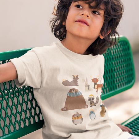 Tricou copii Animalute3