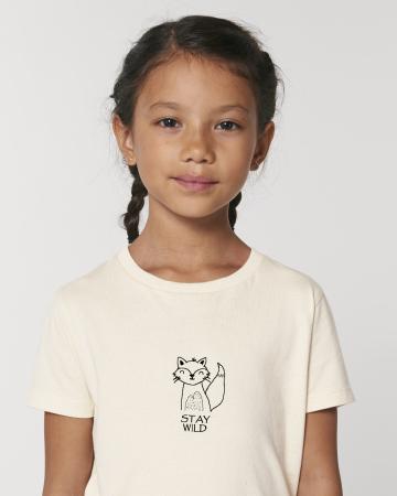 Tricou copii Stay wild5
