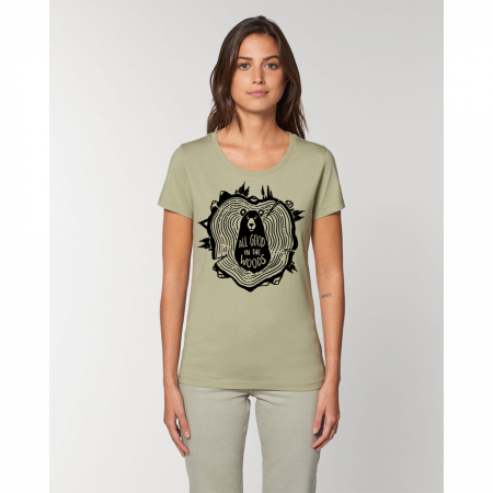 Tricou dama- All good in the woods [0]