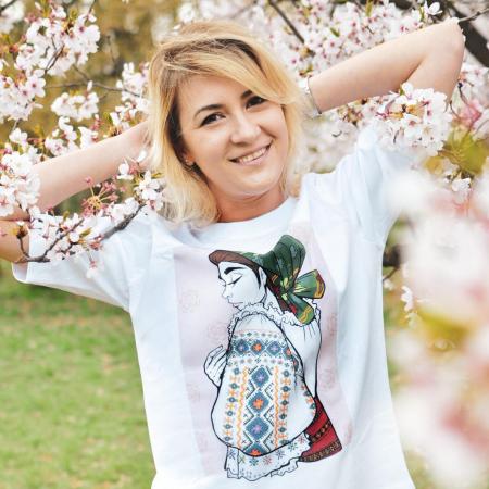 Romancuta Bistrita Mocod - tricou dama, relaxed fit [0]