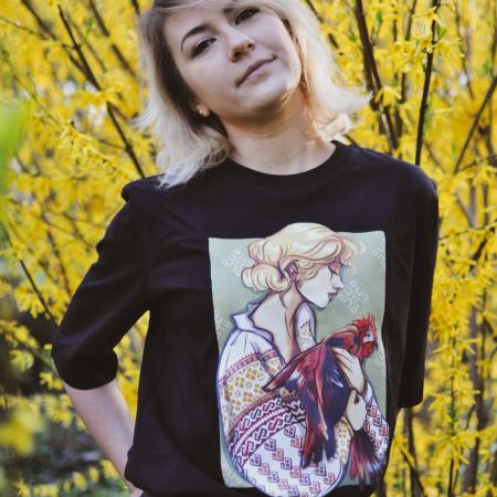 Romancuta Neamt - tricou dama, relaxed fit [1]