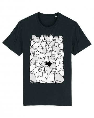 Tricou grafica Cats Pattern 1 by Cristina Ion0