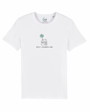 Tricou unisex - Earth is everybody's home1