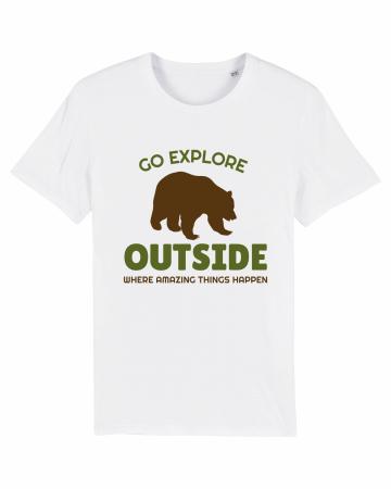 Tricou Unisex - Go outside1