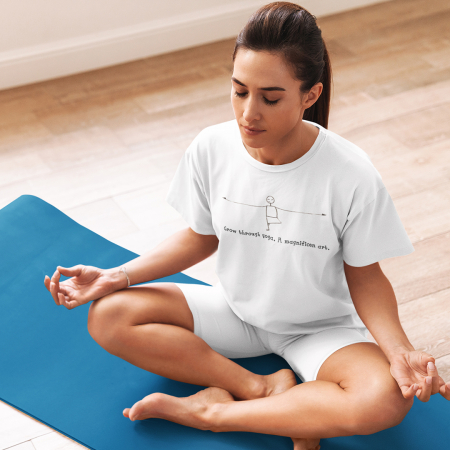 Tricou Unisex - Grow through yoga0