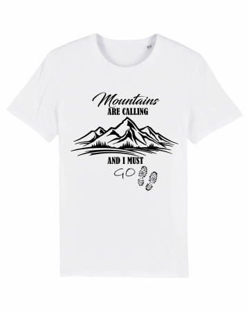 Tricou unisex - Mountains are calling 11