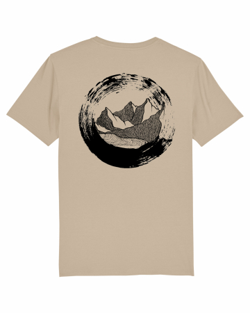 Tricou unisex - The Circle of Mountains0