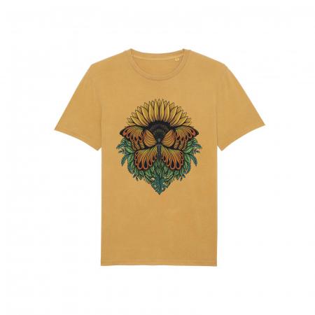 Tricou unisex vintage - Sunflower [1]