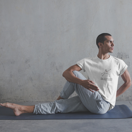 Tricou Unisex - Yoga. A harmonious dance from within0