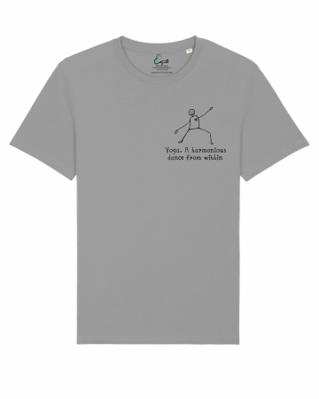 Tricou Unisex - Yoga. A harmonious dance from within2