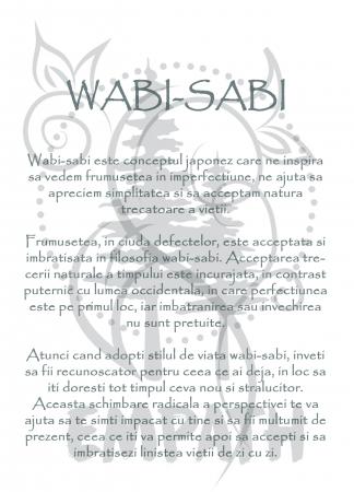 Wabi Sabi - tricou unisex [4]