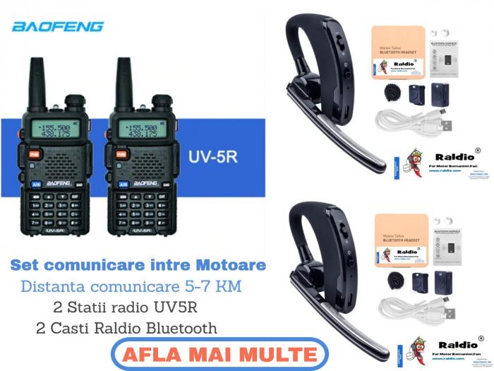 Set RALDIO 2UV5R - comunicare intre motoare 0