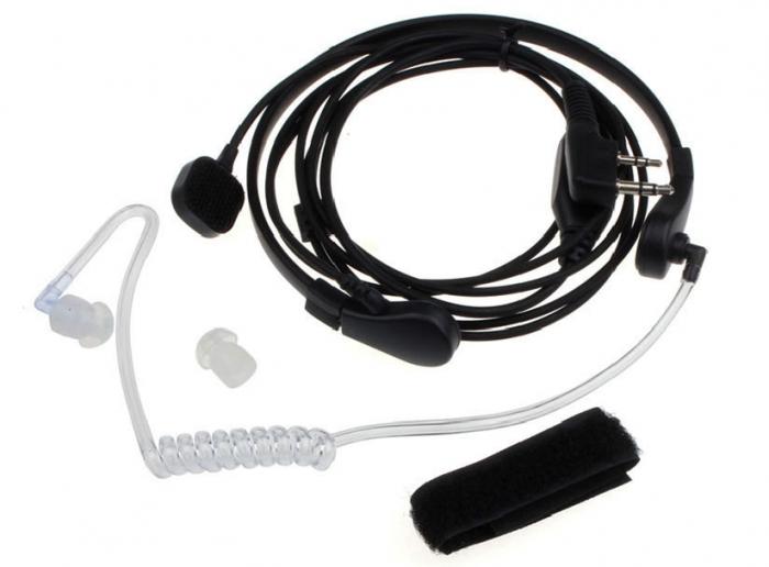 Laringofon cu tub acustic pentru statii emisie receptie cu mufa K 1