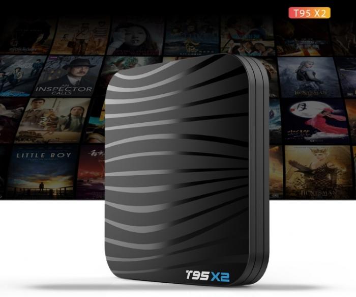 T95X2 Mediaplayer Smart TV Box  2 GB si 16 GB RAM miniPC Android 8.1 5
