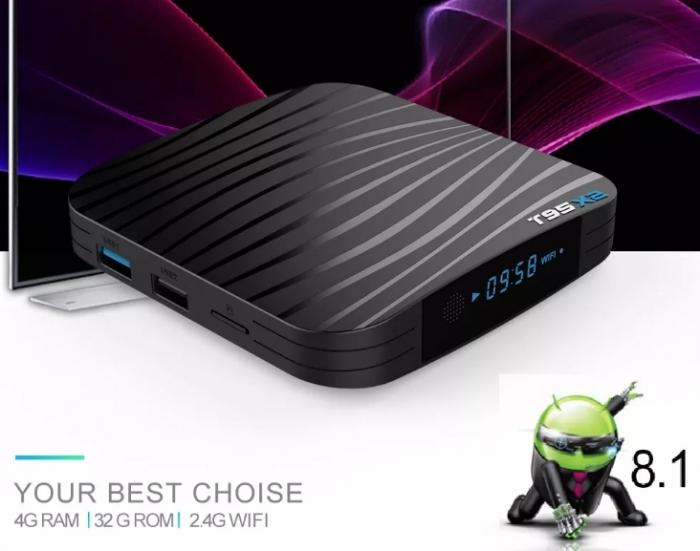 T95X2 Mediaplayer Smart TV Box  2 GB si 16 GB RAM miniPC Android 8.1 3