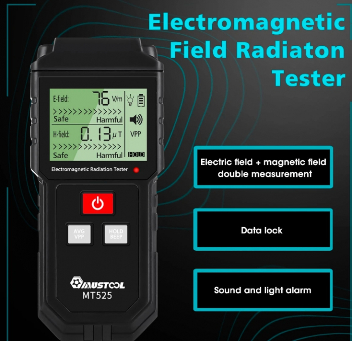 RALDIO - Dedector si masurare radiatii electromagnetice si camp electric. [6]