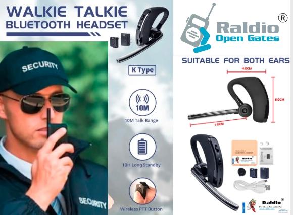 RALDIO - Set Bluetooth pentru Statii emisie receptie mufa K 0