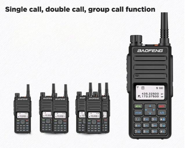 Statie radio digitala Baofeng DM - 1801  Bonus Cablu si CD programare [6]
