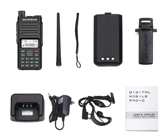 Statie radio digitala Baofeng DM - 1801  Bonus Cablu si CD programare [7]