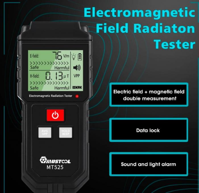 RALDIO - Dedector si masurare radiatii electromagnetice si camp electric. [1]