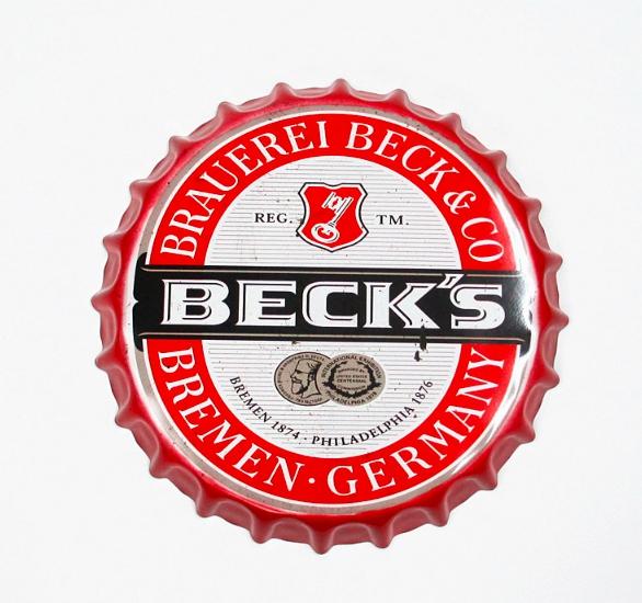 Capac Bere Decor  Becks diametru 35 cm [0]