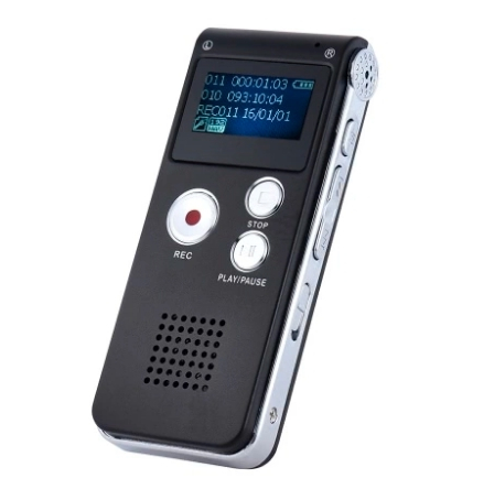 S012 - reportofon 8GB microfon spion acumulator propriu 250 mAh [0]