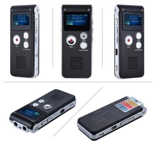 S012 - reportofon 8GB microfon spion acumulator propriu 250 mAh [2]