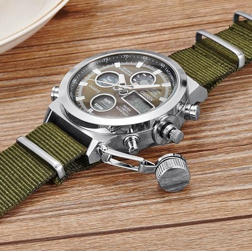 GIMTO ceas military, army, sport dual core 2