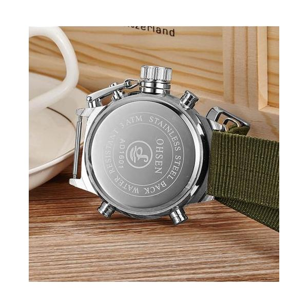 OHSEN ceas military, army, sport, dual core 2
