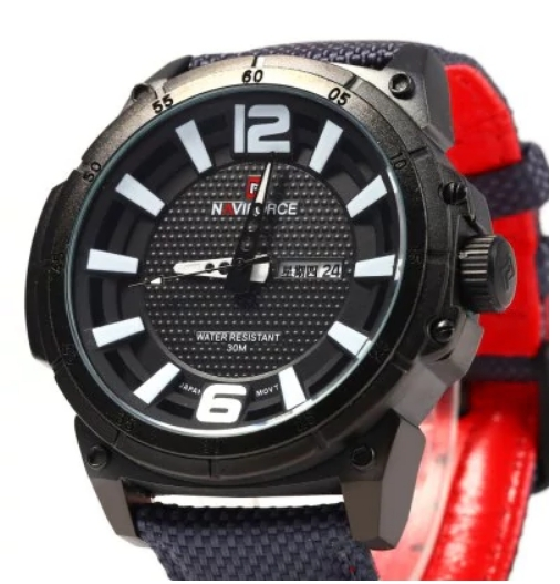 Naviforce 8100 - Ceas Sport, Military, Army 3