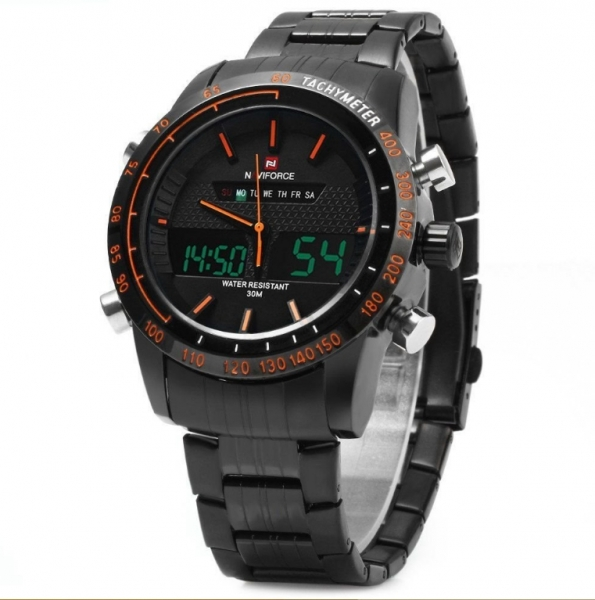Ceas dual core Naviforce sport military, army 1