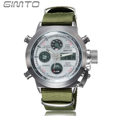 GIMTO ceas military, army, sport dual core 0