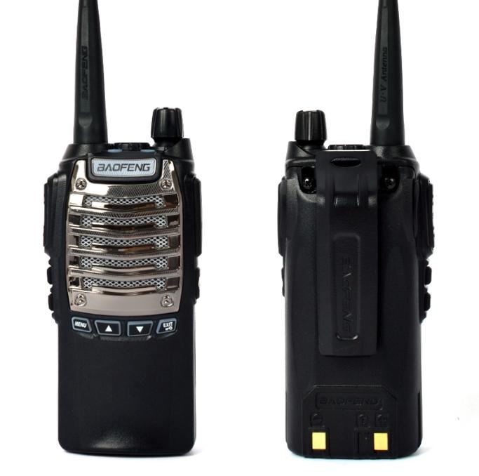 Set 2 buc statii Radio Walkie Talkie Baofeng Raldio UV-8D UHF 400 - 520MHz 16CH PROGRAMABILE 8W, radio UHF 65 - 108 MHz 2