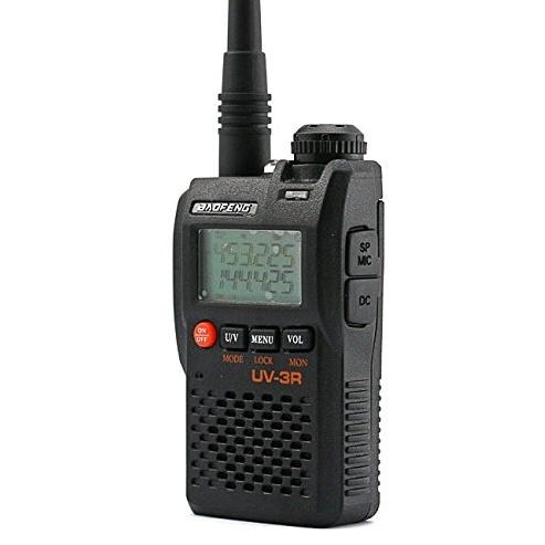 Statie radio Baofeng UV-3R mini Walkie Talkie , FM tranciever, 99 CH, dual band VHF, UHF radio FM [0]