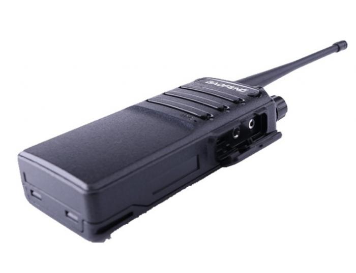 Set 2 buc Statii Radio Walkie Talkie Baofeng BF- V2 UHF 400-470MHz 16CH PROGRAMABILE, incarcare USB 5V + Cablu si CD programare 1