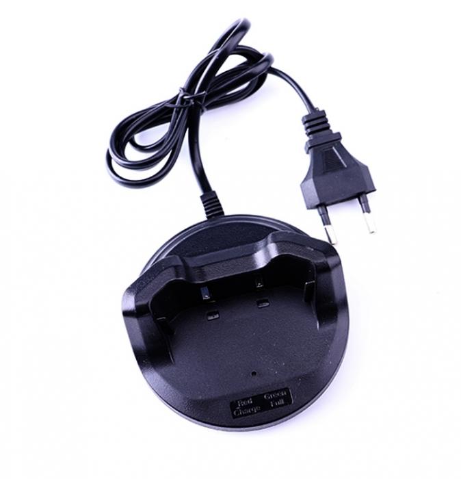 Set 2 buc Statii Radio Walkie Talkie Baofeng BF- V2 UHF 400-470MHz 16CH PROGRAMABILE, incarcare USB 5V + Cablu si CD programare 3