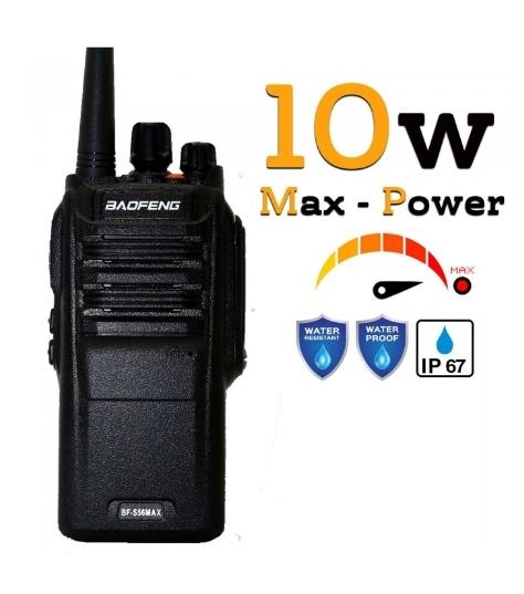 Statie radio Baofeng BF- S56MAX UHF band 10 W , radio FM , IP57 0