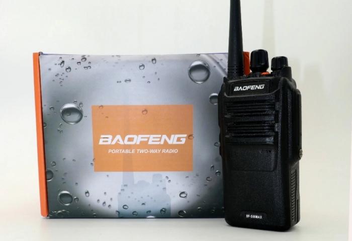 Statie radio Baofeng BF- S56MAX UHF band 10 W , radio FM , IP57 1