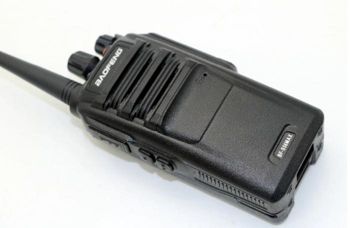 Statie radio Baofeng BF- S56MAX UHF band 10 W , radio FM , IP57 5