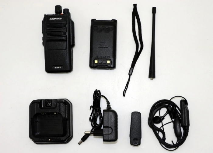 Statie radio Baofeng BF- S56MAX UHF band 10 W , radio FM , IP57 3