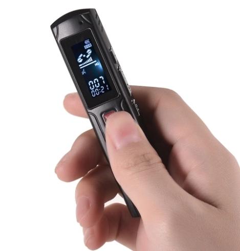 Raldio S013 - reportofon 8GB microfon spion acumulator propriu 350 mAh 2