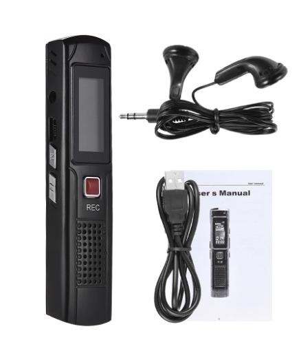 Raldio S013 - reportofon 8GB microfon spion acumulator propriu 350 mAh 4