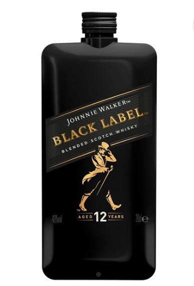 Johnnie Walker Black Label 12 ani Pocket 0.2L 0