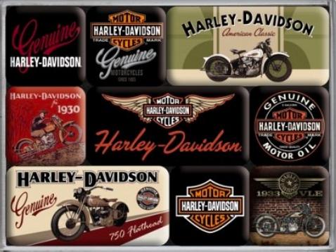 Raldio - Set Cadou Nostalgic - Harley Davidson 1 1