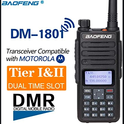 Statie radio digitala Baofeng DM - 1801  Bonus Cablu si CD programare [0]