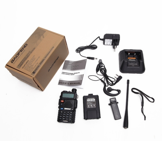 Statie Radio Walkie Talkie Baofeng UV-5R 8W Dual Band Transceiver 4
