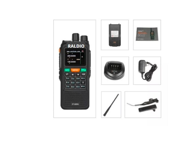 Statie Raldio emisie receptie profesionala 10W  ZT-889G duplex GPS repetor 2