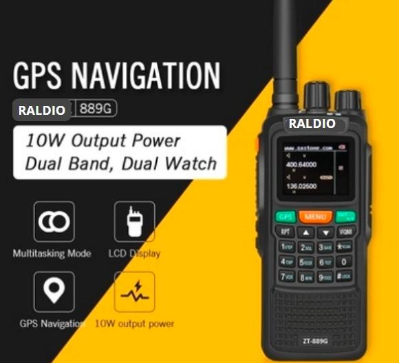 Statie Raldio emisie receptie profesionala 10W  ZT-889G duplex GPS repetor 0