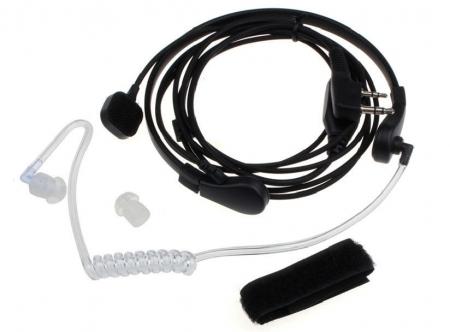 Laringofon cu tub acustic pentru statii emisie receptie cu mufa K1